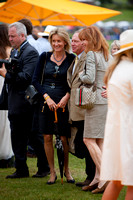 Lady Cowdray and Stephanie Powers - Veuve Clicquot Gold Cup Polo 2011