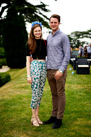 Lily Earle and Harry Trevithick at The Hedsor House Summer Party